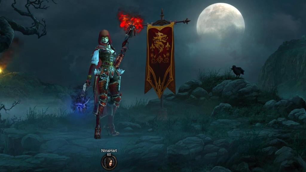 Diablo III Demon Hunter Female by Sweetnessnina on DeviantArt