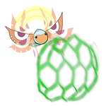 Masquerain used Bug Buzz! by Little-Papership