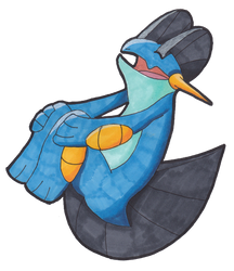 Swampert by Little-Papership