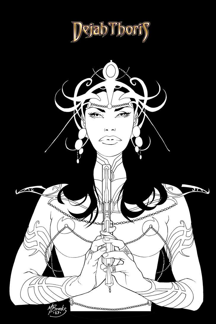 Dejah Thoris 2 by nickleboy