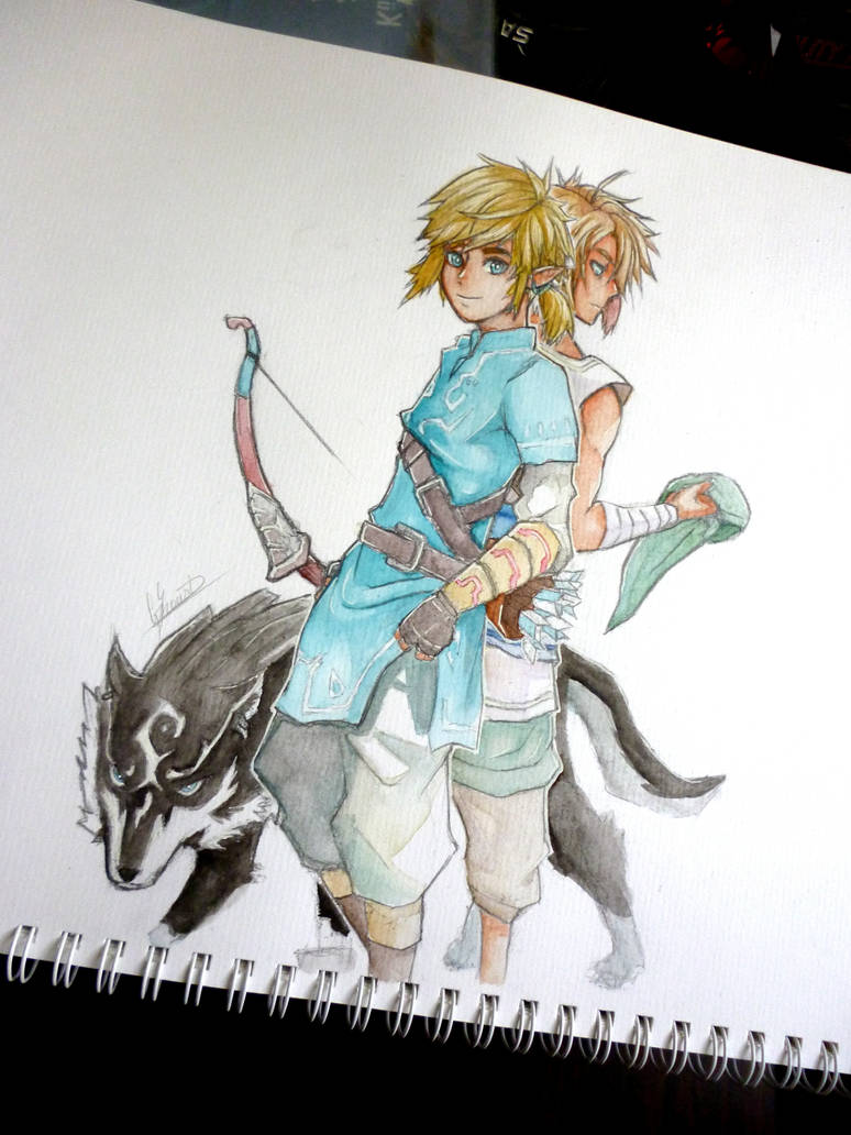 It's just a photo of Sizzling Breath Of The Wild Drawing