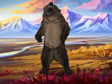 Bear Encounter by NorthernCall