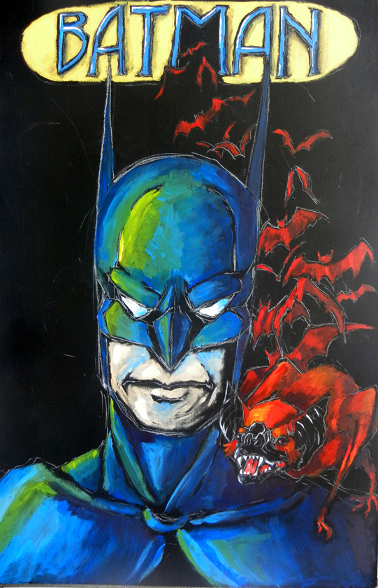 Batman by KekeIllustrations