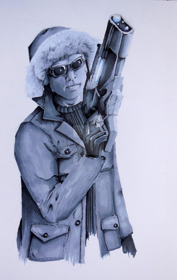 Captain Cold by KekeIllustrations