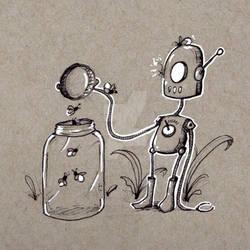 Robots: Releasing Fireflies