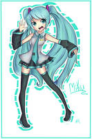 Hatsune Miku by HappySmileGear