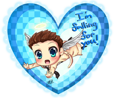 Supernatural Castiel Valentine! by HappySmileGear
