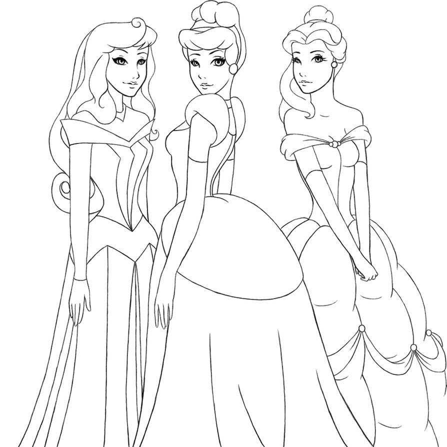 how to draw all disney princess