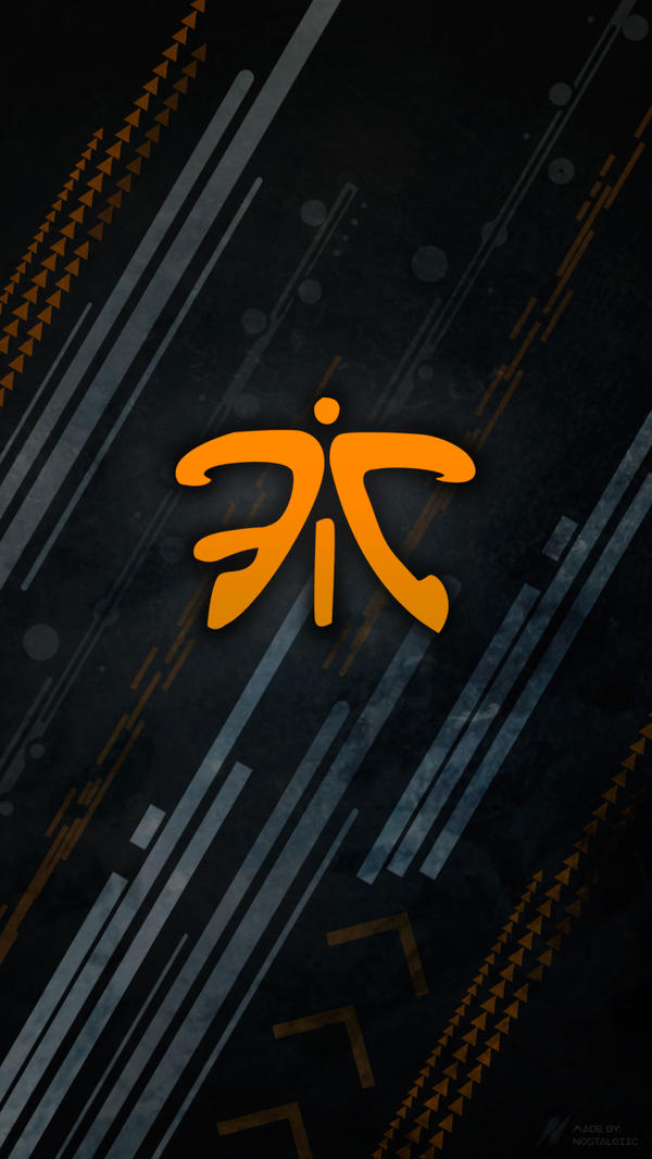 League Of Legends Phone Wallpaper Fnatic by ItsNostalgiic on