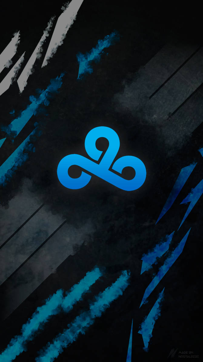 League Of Legends Phone Wallpaper Cloud 9 By Itsnostalgiic On