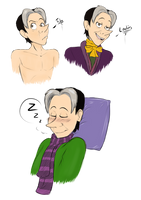 Little Cedric Doodles by TiaPunky