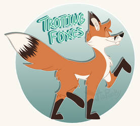 Trotting Foxes