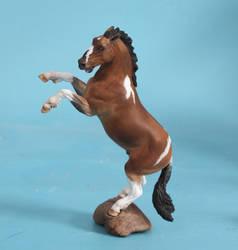 Sean Cooper mini resin horse kit commission