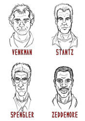 Ghostbusters Portraits