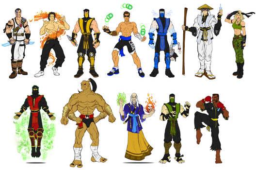 Mortal Kombat 1 - Primary Costumes