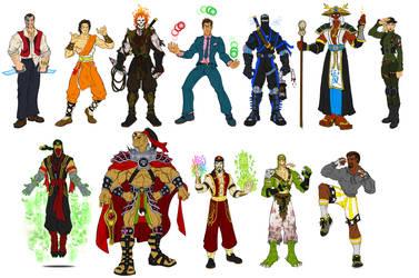 Mortal Kombat 1 - Alternate Costumes by RazorsEdge701