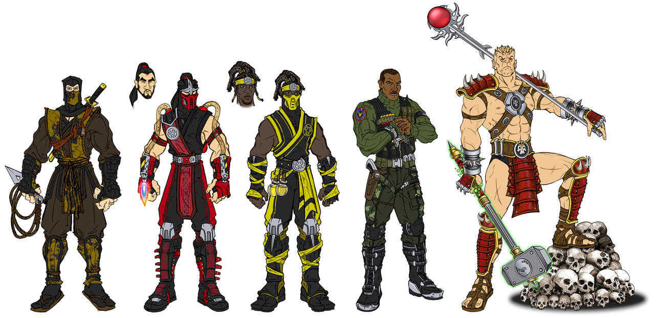 Mortal Kombat NPCs/Extras By RazorsEdge701 On DeviantArt