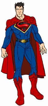 Modernized Superman