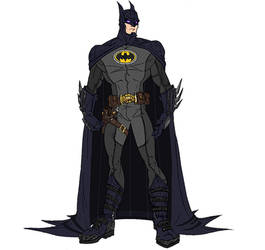 Modernized Batman