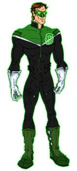 Modernized Green Lantern