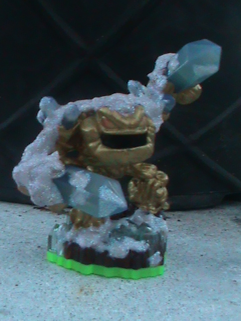 Skylanders-Custom S1 Holiday Employee Prism Break by KrazyKari