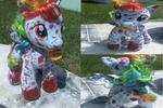 MLP-Custom Rainbow Factory RD BaB Plush (For Sale)