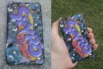 Spyro-Spyro Logo Galaxy iPhone Case (For Sale)