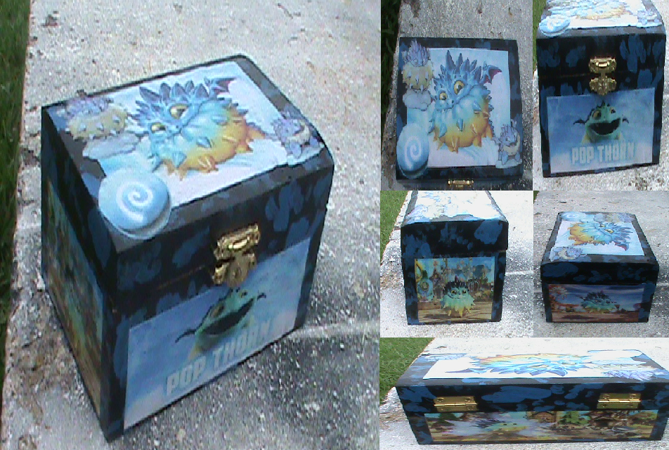 SL-Pop Thorn Jewelry Box (For Sale) by KrazyKari