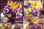 Spyro-Ultra Rare 1998 Quadruped Plush (Redo Pics)