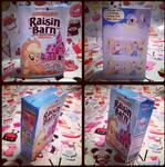 MLP-Raisin Barn Cereal Papercraft by KrazyKari