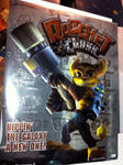 RaC-Ultra Rare Foil Ratchet and Clank 1 Poster