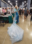 Male Elsa Cosplay at Supercon