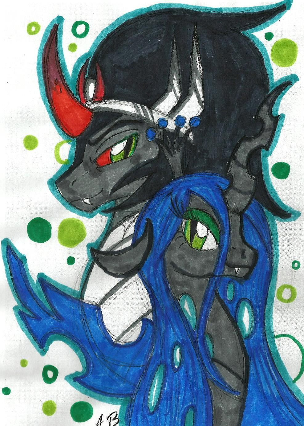 Queen Chrysalis And King Sombra (MLP) King Sombra and ...