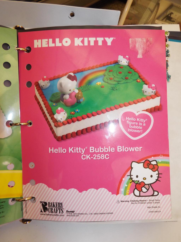 Hk Hello Kitty Bubble Blower Publix Cake By Krazykari On