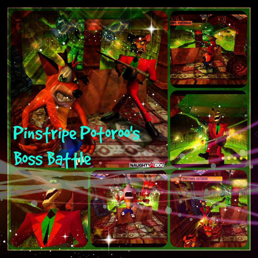 Crash bandicoot pinstripe