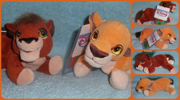 94503a3db2d KrazyKari 7 0 ( Lion King ) Kovu and Kiara Mini Beanie Plushies by KrazyKari