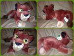 ( Lion King ) UK Disney Store 12 Inch Kovu Plush