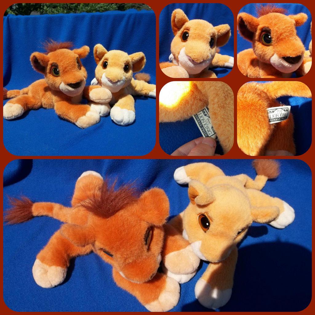 ( Lion King ) Purring Kovu And Kiara Plushies By KrazyKari