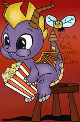 ( Spyro the Dragon/MLP ) Watching Ripto Burn....