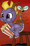 ( Spyro the Dragon/MLP ) Watching Ripto Burn....
