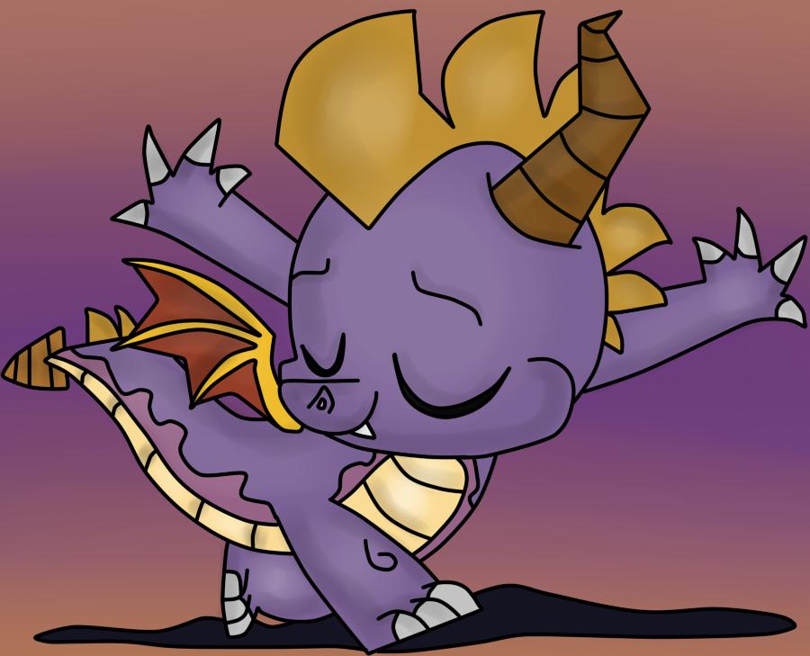 ( Spyro / MLP ) Dancing Spyro the Dragon