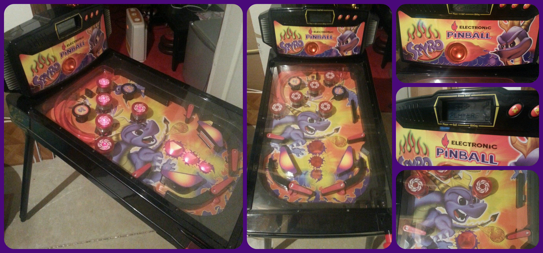2001 pinball machine