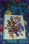 ( Spyro/Crash ) Retro Gaming Magazine Poster