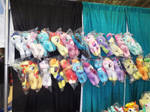 ( MLP ) OnlyFactory Plushies at MCCC 2015
