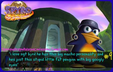 ( Spyro Confessions ) Srgt Byrd Love