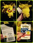 ( Pokemon ) Tomy X/Y Pikachu Plushie
