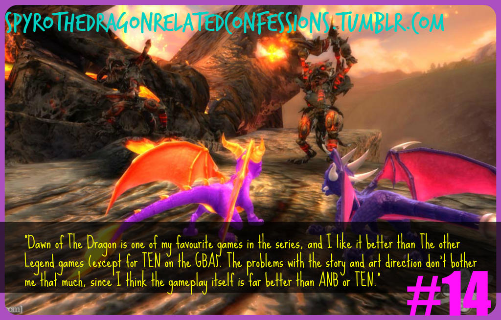 Spyro Confessions ) Dawn of the Dragon Love by KrazyKari on