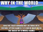 ( Spyro the Dragon ) No More Skateboard Meme