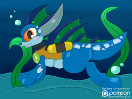 ( Skylanders ) Zap Taking a Swimmy