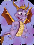 ( Spyro ) A Goofy Looking Purple Boi Collab